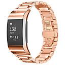 Χαμηλού Κόστους Smart Wristbands-Παρακολουθήστε Band για Fitbit Charge 2 Fitbit πεταλούδα πόρπης Ανοξείδωτο Ατσάλι Λουράκι Καρπού