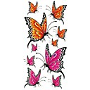 baratos Glitter tatuagem-1 pcs Tatuagens temporárias Impermeável Corpo / brachium / ombro Tatuagem Adesiva