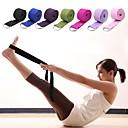 ราคาถูก พิลาทิส-สายโยคะ สิ่งทอ ยืด ทนทาน Adjustable D-Ring Buckle กายภาพบำบัด การยืด Improve Flexibility โยคะ Pilates ฟิตเนส สำหรับ ทุกเพศ