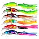 ราคาถูก เหยื่อตกปลา-6 pcs ที่ลวงตาในเบ็ด Hard Bait หลอกล่อ Octopus กลางแจ้ง สปอร์ตและเอ๊าท์ดอร์ Octupus Sinking จมได้รวดเร็ว Bass ปลาเทราท์ หอก ตกปลาทะเล เบทคาสติ้ง Spinning ABS / การตกปลาแบบ Jigging / ปลาน้ำจืด