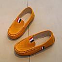 ราคาถูก รองเท้าหนังเด็ก-เด็กผู้ชาย / เด็กผู้หญิง ความสะดวกสบาย Synthetic Microfiber PU รองเท้าส้นเตี้ยทำมาจากหนังและรองเท้าสวมแบบไม่มีเชือก เด็กวัยหัดเดิน (9m-4ys) / เด็กน้อย (4-7ys) / Big Kids (7 ปี +) ขาว / สีดำ / สีเหลือง