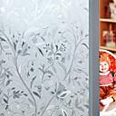 Χαμηλού Κόστους Μεμβράνη Παραθύρου & Αυτοκόλλητα-Window Film & αυτοκόλλητα Διακόσμηση Λουλουδάτο Φλοράλ PVC / Vinyl Ματ