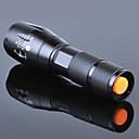 Χαμηλού Κόστους Μπολ σκυλιών & Ταΐστρες-Φακοί LED Αδιάβροχη Επαναφορτιζόμενο 3000 lm LED Εκτοξευτές 5 τρόπος φωτισμού με μπαταρία και φορτιστή Αδιάβροχη Zoomable Επαναφορτιζόμενο Ρυθμιζόμενη Εστίαση Εξαιρετικά Ελαφρύ High Power