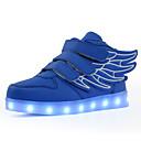 povoljno LED Cipele-Dječaci / Djevojčice LED / Svjetleće tenisice PU Sneakers Dijete (9m-4ys) / Mala djeca (4-7s) / Velika djeca (7 godina +) Hodanje Kopča / LED Crn / Obala / Navy Plava Jesen / Zima / Guma