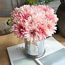Χαμηλού Κόστους Ψεύτικα Λουλούδια-Ψεύτικα λουλούδια 7 Κλαδί Γάμος Ποιμενικό Στυλ Χρυσάνθεμο Λουλούδι για Τραπέζι