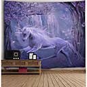 olcso Falfestmények-Építészet Fali dísz Poliészter Vintage Wall Art, Fali gobelinek Dekoráció