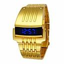 Χαμηλού Κόστους Αντρικά Κολιέ-Ανδρικά Αθλητικό Ρολόι Ψηφιακό ρολόι Χαλαζίας Μαύρο / Ασημί / Χρυσό Ανθεκτικό στο Νερό Ψηφιακό Πολυτέλεια Μοντέρνα - Χρυσό Μαύρο Ασημί
