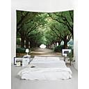 billige Wall Tapestries-Plasser Arkitektur Veggdekor polyester Moderne Veggkunst, Veggtepper Dekorasjon