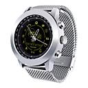 Χαμηλού Κόστους Έξυπνα Ρολόγια-DX18 Άντρες Έξυπνο ρολόι Android iOS Bluetooth Αδιάβροχη Θερμίδες που Κάηκαν Μεγάλη Αναμονή Νεό Σχέδιο Ημερολόγιο Άσκησης Χρονόμετρο Υπενθύμιση Κλήσης Ξυπνητήρι Χρονογράφος άσκηση υπενθύμιση / > 480