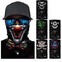 povoljno Maske za lice-Face Mask Quick dry Ultraviolet Resistant Antibakterijsko djelovanje Bicikl / Biciklizam Siva Tamno siva Duga Poliester za Muškarci Žene Odrasli biciklom na cesti Pješačenje Biciklizam / Bicikl