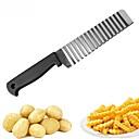 baratos Piercings para o Corpo-onda batata faca aço inoxidável pepino cenoura batata vegetal ondas cortador