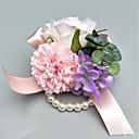 povoljno Cvijeće za vjenčanje-Cvijeće za vjenčanje Boutonnieres / Wrist Corsage Vjenčanje / Party / večernja odjeća Poliester 3.94 inch