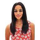 billige Vegglamper-Ubehandlet hår 360 Frontal Parykk Midtdel stil Brasiliansk hår Rett Naturlig Parykk 150% Hair Tetthet med baby hår Dame Naturlig hårlinje Dame Lang Hestehaler Premierwigs