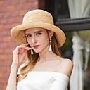 povoljno Pohrana nakita-Prirodno vlakno Kentucky Derby Hat / kape s Mašnica 1pc Kauzalni / Dnevni Nosite Glava