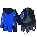 ราคาถูก ถุงมือปั่นจักรยาน-ถุงมือขี่จักรยาน ขี่จักรยานปีนเขา ระบายอากาศ ป้องกันการลื่นล้ม Sweat-wicking Protective Fingerless ถุงมือแบบครึ่งมือ กิจกรรมและถุงมือสำหรับกีฬา สีเขียว แดง ฟ้า สำหรับ ผู้ใหญ่ กลางแจ้ง