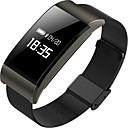 olcso Intelligens karszalagok-Intelligens karkötő A66 mert iOS / Android Szívritmus monitorizálás / Vérnyomásmérés / Elégetett kalória / Hosszú készenléti idő / Érintőképernyő Pulse Tracker / Lépésszámláló / Hívás emlékeztet
