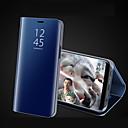 billige Etuier/deksler til Huawei-Etui Til Apple iPhone X / iPhone 8 Plus / iPhone 8 med stativ / Belegg / Speil Heldekkende etui Ensfarget Hard Akryl