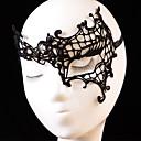 Χαμηλού Κόστους Μάσκες-Αποκριάτικες Μάσκες Αντικείμενα για Χάλοουιν Αξεσουάρ Halloween Πλεγμένο ύφασμα Καλλιτεχνικό / Ρετρό Πρόσωπο Νεό Σχέδιο Sexy Lady Πανέμορφος Comfy