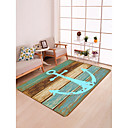 זול שטיחים-שטח שטיחים מסורתי / קאנטרי פלנלית, מָטוֹס איכות מעולה שָׁטִיחַ