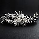 billiga Kroppssmycken-Pärla Hair Combs med Kristall 1 st. Bröllop / Speciellt Tillfälle Hårbonad