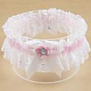 billiga Strumpeband till bröllop-Polyester Nutida / Bröllop Bröllopskläder Med Strass / Rosett / Spets Strumpeband Bröllop / Fest / Kväll