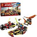 ราคาถูก บล็อกอาคาร-Building Blocks ของเล่นชุดก่อสร้าง ของเล่นการศึกษา 230 pcs Ninja นินจา ที่เข้ากันได้ Legoing ปฏิสัมพันธ์ระหว่างพ่อแม่และลูก Cartoon เด็กผู้ชาย เด็กผู้หญิง Toy ของขวัญ