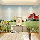 Χαμηλού Κόστους Smartwatch Bands-λουλούδια πράσινο τοπίο γκαζόν έθιμο wallcovering 3d τοιχογραφία ταπετσαρία κατάλληλο για γραφείο εστιατόριο υπνοδωμάτιο καφέ δωμάτιο για παιδιά