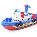 billiga Tennfigurer och leksaksbilar-Leksaksbåtar Båt Nautisk Vattenstråle Plastskal Present 1 pcs