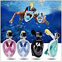 ราคาถูก อุปกรณ์ดำน้ำ-หน้ากากดำน้ำ Full Face Masks หน้าต่างเดียว - การว่ายน้ำ เจลซิลิก้า - สำหรับ สำหรับเด็ก สีดำ / 180 Degree / การรั่วไหลของหลักฐาน / ป้องกันหมอกควัน / Dry Top