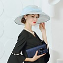 Χαμηλού Κόστους Προσκλητήρια Γάμου-Λινάρι Kentucky Derby Hat / Καπέλα με Φιόγκος 1pc Γάμου / Πάρτι / Βράδυ Headpiece