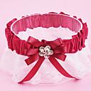 billige Strømpebånd til bryllup-Polyester Moderne / Bryllup Bryllupsklær Med Akryl / Sløyfe / Blonder Strømpebånd Bryllup / Fest & Aften