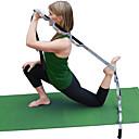 ราคาถูก พิลาทิส-สายโยคะ ฝ้าย ยืด ทนทาน Adjustable D-Ring Buckle กายภาพบำบัด การยืด Improve Flexibility โยคะ Pilates ฟิตเนส สำหรับ