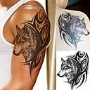 billiga tatuering klistermärken-5 pcs Tatueringsklistermärken tillfälliga tatueringar Totemserier / Djurserier Body art arm