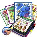 ราคาถูก ของเล่นวาดรูป-โต๊ะเขียนหนังสือของเล่น สมุดวาดรูปมายากล Creative ของเด็ก ของขวัญ 1pcs