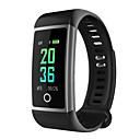 billige Praktiske gaver-m18 smart watch bt 4.0 fitness tracker støtte varsle og anti-tapte vanntett armbånd kompatibel Samsung / Huawei / iPhone