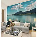 Χαμηλού Κόστους Smartwatch Bands-μπλε ουρανό και λευκά τοπία ζωγραφική σύννεφα μεγάλο τοίχο που καλύπτει τοιχογραφία ταπετσαρία κατάλληλο για γραφείο υπνοδωμάτιο εστιατόριο τοπίο