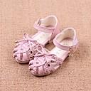 Χαμηλού Κόστους Παιδικά πέδιλα-Κοριτσίστικα Ανατομικό / Λουλουδάτα φορέματα για κορίτσια Δερματίνη Σανδάλια Νήπιο (9m-4ys) / Τα μικρά παιδιά (4-7ys) / Μεγάλα παιδιά (7 ετών +) Μπεζ / Μπλε / Ροζ Καλοκαίρι