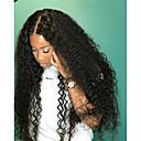 ราคาถูก วิกผมจริง-ผม Remy มีลูกไม้ด้านหน้า วิก สไตล์ ผมบราซิล ความหงิก วิก 180% Hair Density ผมเด็ก 100% บริสุทธิ์ สำหรับผู้หญิง ยาว วิกผมแท้ beikashang