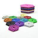 זול בלוקים מגנטיים-1000 pcs 5mm צעצועים מגנטיים כדורים מגנטיים צעצועים מגנטיים אבני בניין מגנטים חזקים נדיר- Earth סופר מגנט ניאודימיום מגנט ניאודימיום מגנטי הפגת מתחים וחרדה Office צעצועים במשרד הקלה על ADD, ADHD