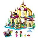 Χαμηλού Κόστους Building Blocks-Τουβλάκια Στρατιωτικά μπλοκ Κατασκευασμένα Παιχνίδια 402 pcs Κάστρο Πριγκίπισσα Στρατιώτης συμβατό Legoing Lovely Αλληλεπίδραση γονέα-παιδιού Αγορίστικα Κοριτσίστικα Παιχνίδια Δώρο