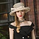 ราคาถูก เครื่องประดับผมสำหรับงานปาร์ตี้-ตูเล่ Kentucky Derby Hat / หมวก กับ ปมผ้า 1pc งานแต่งงาน / งานปาร์ตี้ / งานราตรี หูฟัง