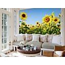 Χαμηλού Κόστους Smartwatch Bands-λουλούδι ηλίου μεγάλο τοίχο που καλύπτει τοιχογραφία ταπετσαρία κατάλληλο για το δωμάτιο παιδικό δωμάτιο υπνοδωματίου