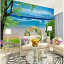 povoljno Zidne tapete-običaj morska vučna lukova 3d veliki wallcoverings zidne pozadine pogodne za urede sobe restorani cvijeće