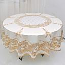 זול כיסויי שולחן-עכשווי PVC עגול משטחי שולחן מפות שולחן גיאומטרי לוח קישוטים 1 pcs
