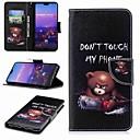 ราคาถูก วง Smartwatch-Case สำหรับ Huawei Huawei P20 / Huawei P20 Pro / Huawei P20 lite Wallet / Card Holder / with Stand ตัวกระเป๋าเต็ม Word / Phrase Hard หนัง PU / P10 Plus / P10 Lite / P10