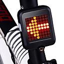 billiga Cykellyktor-LED Cykellyktor Blinkerljus Baklykta till cykel säkerhetslampor Bergscykling Cykel Cykelsport Vattentät Smart induktion Bärbar Vikbar Li-jon 200 lm Laddningsbart USB Röd Cykling