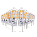 povoljno LED Bi-pin svjetla-YWXLIGHT® 10pcs 3 W LED svjetla s dvije iglice 200-300 lm G4 T 12 LED zrnca SMD 2835 Toplo bijelo Hladno bijelo Prirodno bijelo 12 V
