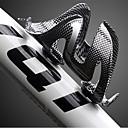 billiga Bidékranar-Cykel Vattenflaskhållare Ej Deformerbar Anti-Skakning Ultra Lätt (UL) Till Cykelsport Racercykel Mountain Bike Plastik Svart 1 pcs