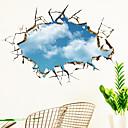 billige Wall Tapestries-Dekorative Mur Klistermærker - 3D Mur Klistremerker Landskap 3D Stue Soverom Baderom Kjøkken Spisestue Leserom / Kontor