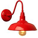 ราคาถูก ชุดเครื่องประดับ-เรทโทร / วินเทจ โคมไฟติดผนัง ในที่ร่ม / Shops / Cafes โลหะ โคมไฟติดผนัง IP20 110-120โวลล์ / 220-240โวลต์ 60W